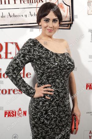 Editorial photo of The Spanish Actors Union Awards, Madrid, Spain - 11 Mar 2014
