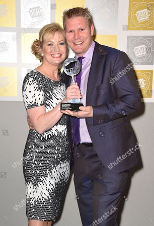 Carol Kirkwood and Matthew Hoggard