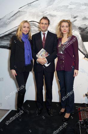 Alexandra Cousteau, Ben Goldsmith and Bettina Alonso