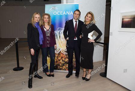 Alexandra Cousteau, Bettina Alonso, Ben Goldsmith and Stephanie Bilet