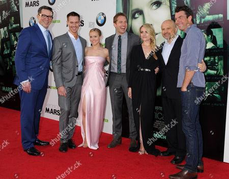 Rob Thomas, Jason Dohring, Kristen Bell, Ryan Hansen, Amanda Noret, Enrico Colantoni and Jerry O'Connell