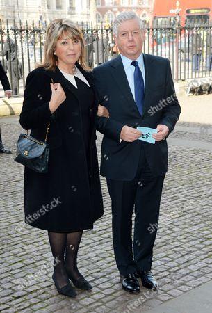 Stock Image of Eve Pollard and Nicholas Lloyd