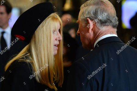Lady Carina Fitzalan-Howard and Prince Charles