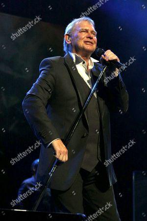 Editorial photo of John Farnham in concert at Allphones Arena, Sydney, Australia - 13 Mar 2014