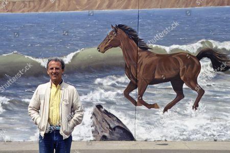 Stock Photo of Jean Giraud. Santa Monica, CA