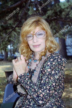 Monica Vitti. Cinecittà, Roma. June 1983