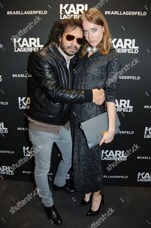 Olivier Zahm and guest