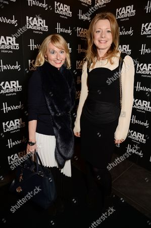 Carrie Tyler (Editor of Never Underdressed) and Tiffanie Darke (Editor of Sunday Times Style)