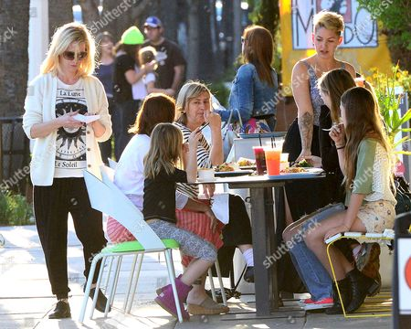 Editorial picture of Jennie Garth out and about in Los Angeles, America - 12 Mar 2014