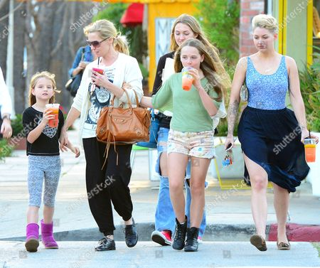 Editorial image of Jennie Garth out and about in Los Angeles, America - 12 Mar 2014