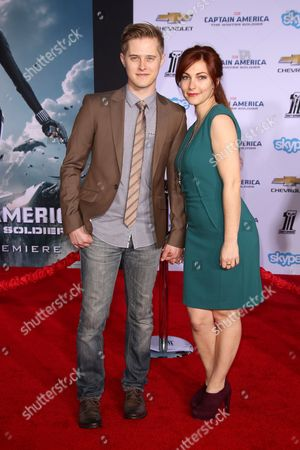 Lucas Grabeel and guest