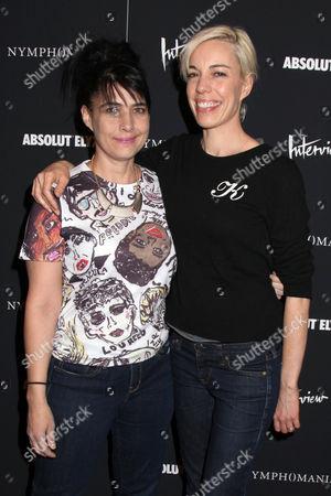 Kathleen Hanna and Kathi Wilcox