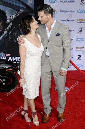 Frank Grillo and wife Wendy Moniz