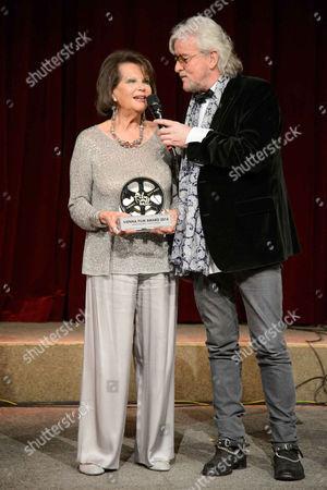 Claudia Cardinale and Reinhold Bilgeri