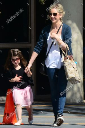 Sarah Michelle Gellar and Daughter