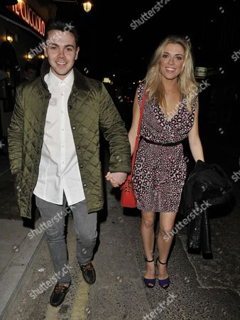 Stock Image of Ray Quinn and Emma Stephens
