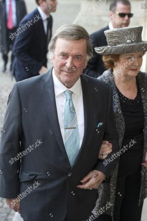 Sir Terry Wogan and wife Helen Joyce