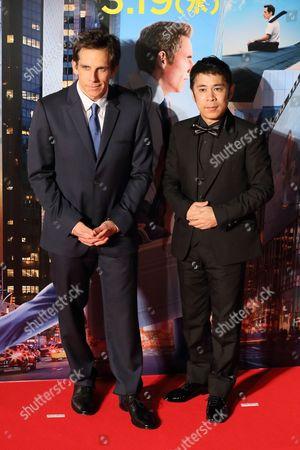 Ben Stiller and Takashi Okamura