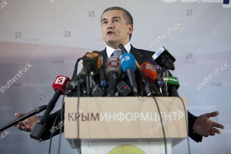 Crimean Prime Minister Sergey Aksyonov