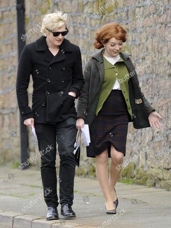 Sheridan Smith as Cilla Black (R) and Aneurin Barnard as Cilla's husband Bobby Willis
