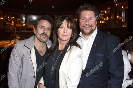 Con O'Neil, Cathy McGowan and Michael Ball