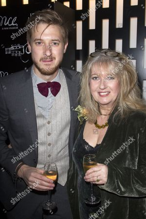 Stock Image of Arthur Darvill (Guy) and Ellie Darvill