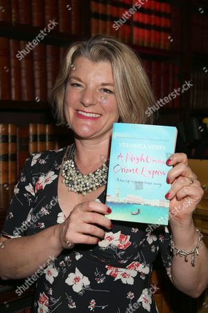 Veronica Henry with her book 'A Night on the Orient Express'