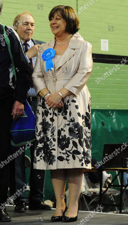Pictured: Losing Conservative Candidate Maria Hutchings At The Count The Flemming Centre Eastleigh. Where The Votes Are Being Counted For The Result Of The Eastleigh By-election.