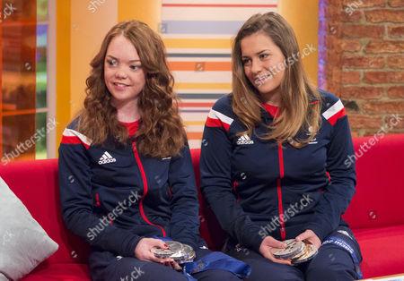 Jade Etherington and Caroline Powell