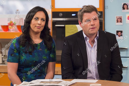 Editorial picture of 'Lorraine Live' TV Programme, London, Britain - 18 Mar 2014