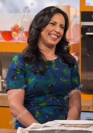 Editorial photo of 'Lorraine Live' TV Programme, London, Britain - 18 Mar 2014