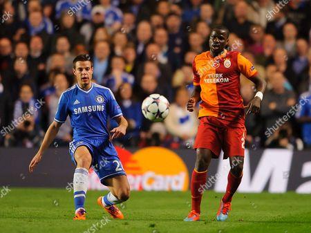 Editorial image of UEFA Champions League 2013/14, Round of 16, Second Leg, Chelsea v Galatasaray, Stamford Bridge, London, Britain - 18 Mar 2014