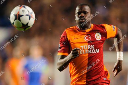 Emmanuel Eboue of Galatasaray