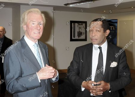 Cecil Stewart OBE and Lord Taylor of Warwick