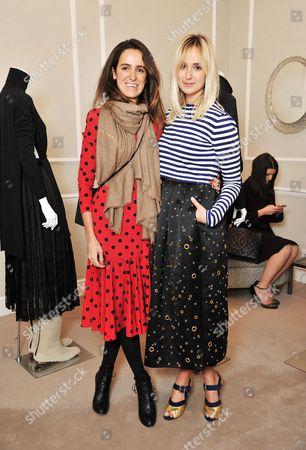 Coco Brandolini and Princess Elisabeth von Thurn und Taxis