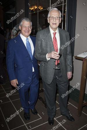 Cameron Mackintosh and Michael Blakemore