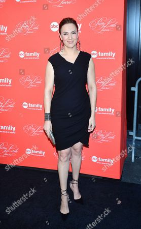 Editorial image of 'Pretty Little Liars' Season Finale Event, New York, America - 18 Mar 2014