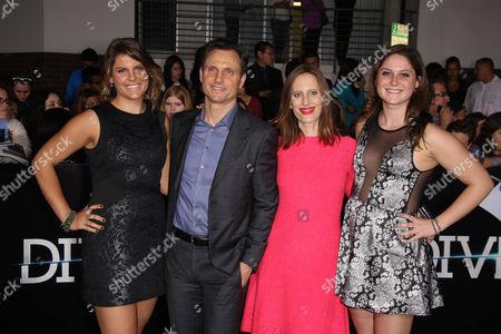 Tony Goldwyn, Liz Goldwyn, Anna Musky-Goldwyn, Tess Goldwyn