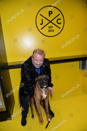 Hamish McAlpine and dog