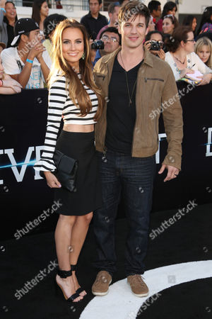 Angela Stacy and Matt Lanter