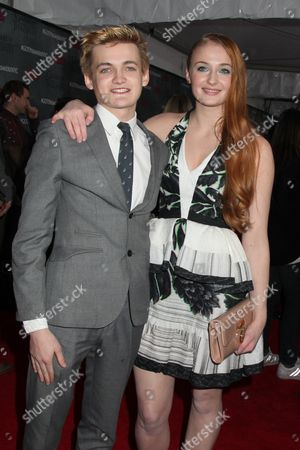 Jack Gleeson and Sophie Turner