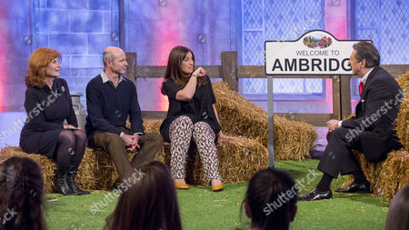 The Archers - Buffy Davis, Richard Attlee and Louiza Patikas with Alan Titchmarsh