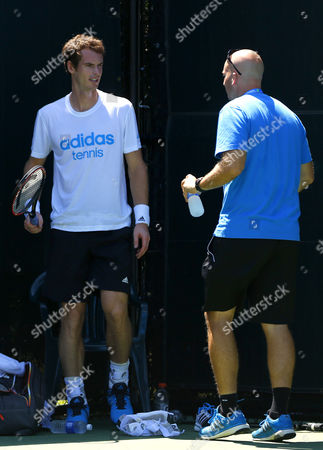 Andy Murray and Jez Green