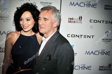 Editorial image of 'The Machine' film premiere, London, Britain - 19 Mar 2014
