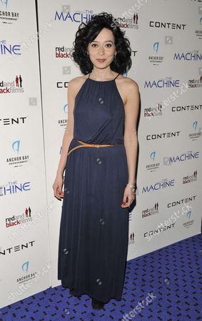 Editorial picture of 'The Machine' film premiere, London, Britain - 19 Mar 2014