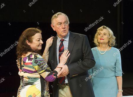 Clare Higgins as Silda, Peter Egan as Lyman , Sinead Cusack as Polly