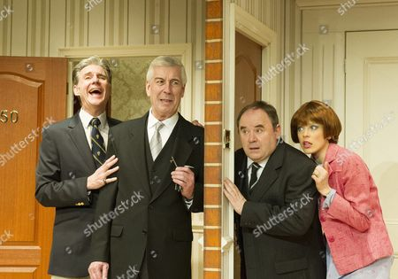 Michael Praed as Richard, Jeffrey Holland as the Manager, Nick Wilton as George, Kelly Adams as Jennifer