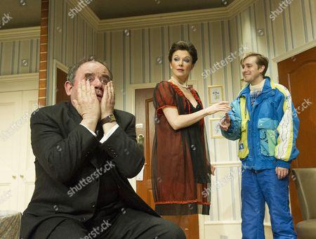 Stock Picture of Nick Wilton as George, Josefina Gabrielle as Pamela, Tom Golding as Edward