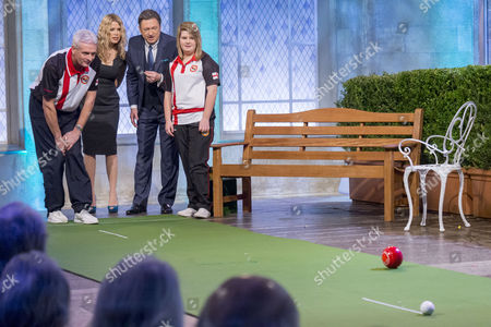 Stock Picture of Andy Thompson, Melinda Messenger, Alan Titchmarsh and Katherine Rednall
