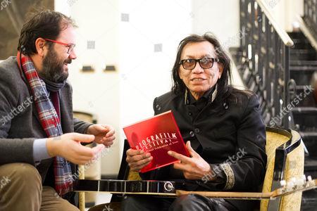 Stock Image of Andrea Romeo and Sixto Rodriguez